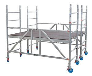 rusztowanie aluminiowe jezdne protec xs-p